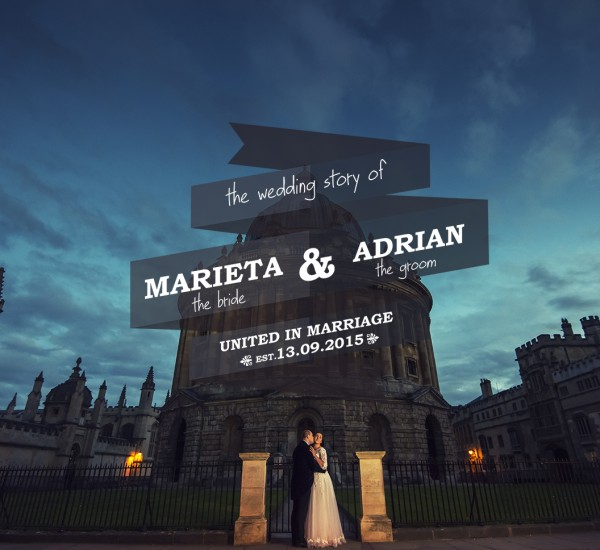 Marieta & Adrian – After wedding session – Oxford UK